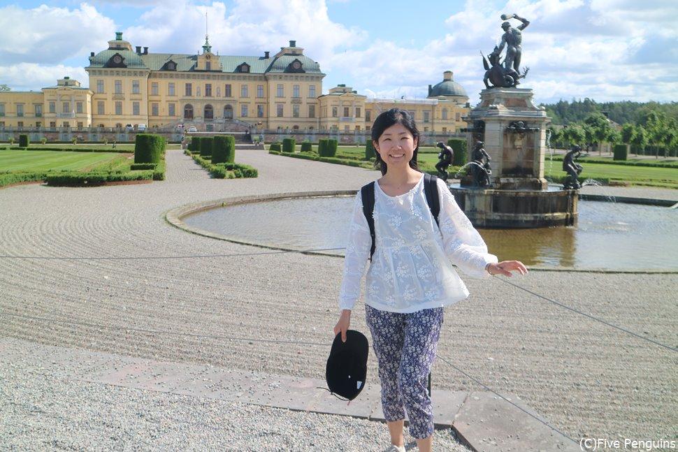 ドロットニングホルム宮殿 こうやってまた楽しく旅行ができる日を信じて…