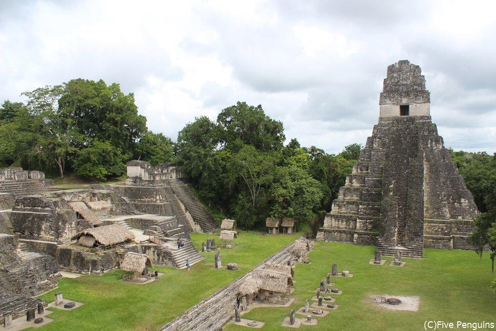 ティカル遺跡<グアテマラ>