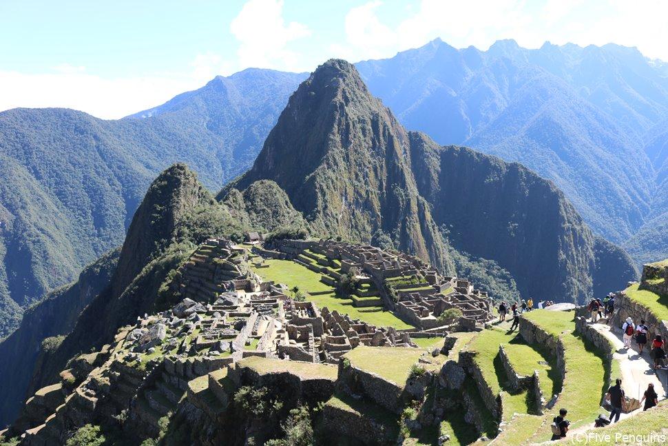 世界中の旅人から大人気のマチュピチュ遺跡