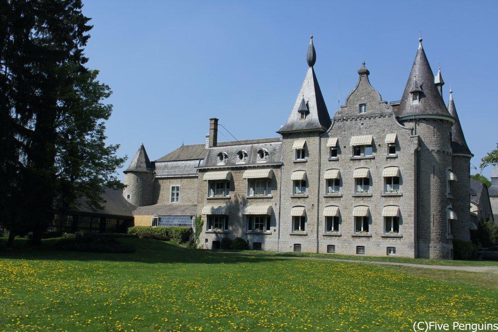 アルデンヌ地方の美しい古城ホテル シャトー・ダッソンヴィル