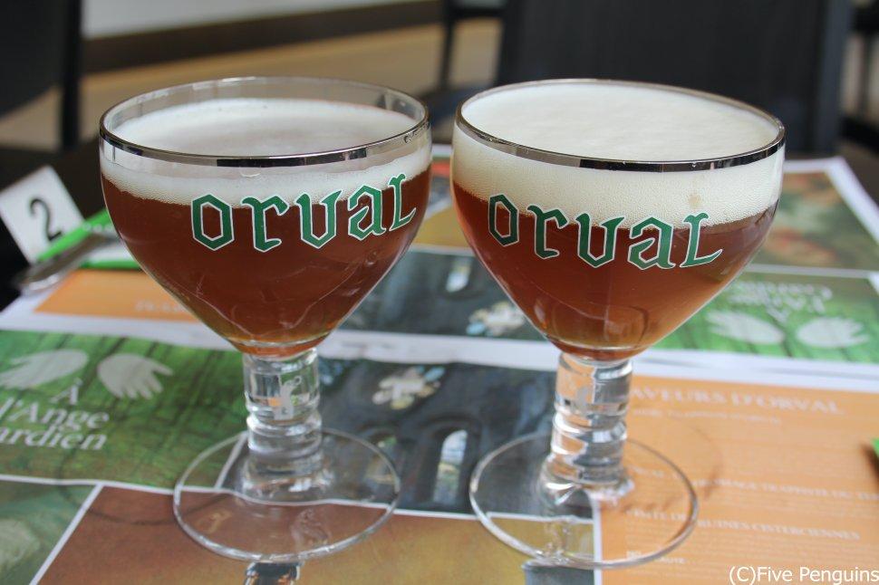 マイケル・ジャクソンも絶賛したというオルヴァルの珍しい生ビール!