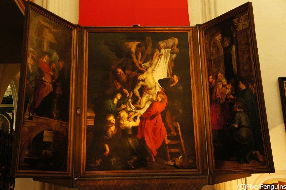 「フランダースの犬」のラストでも有名な「キリスト降架」