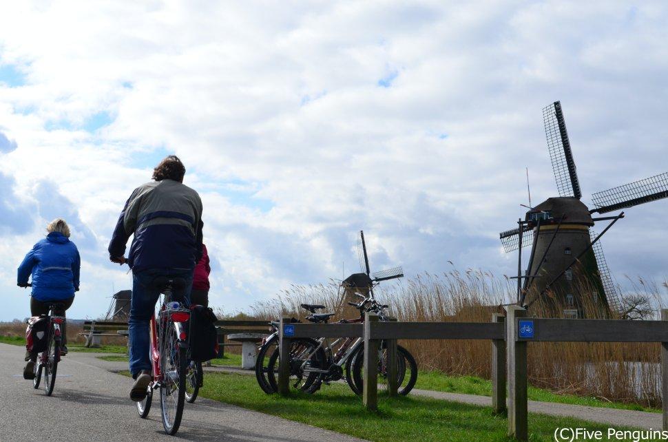 ベルギーのお隣の国オランダでのサイクリングは3密とは無縁??