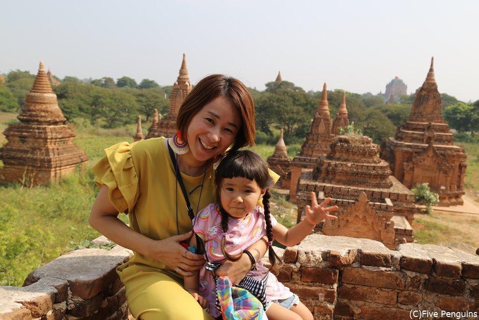 子供連れにも安心、穏やかな国ミャンマー