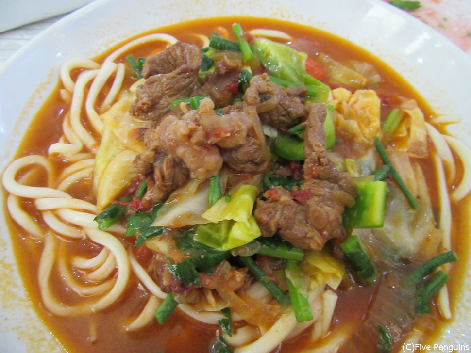 ブハラで食べたウズベキスタンのうどん「ラグマン」