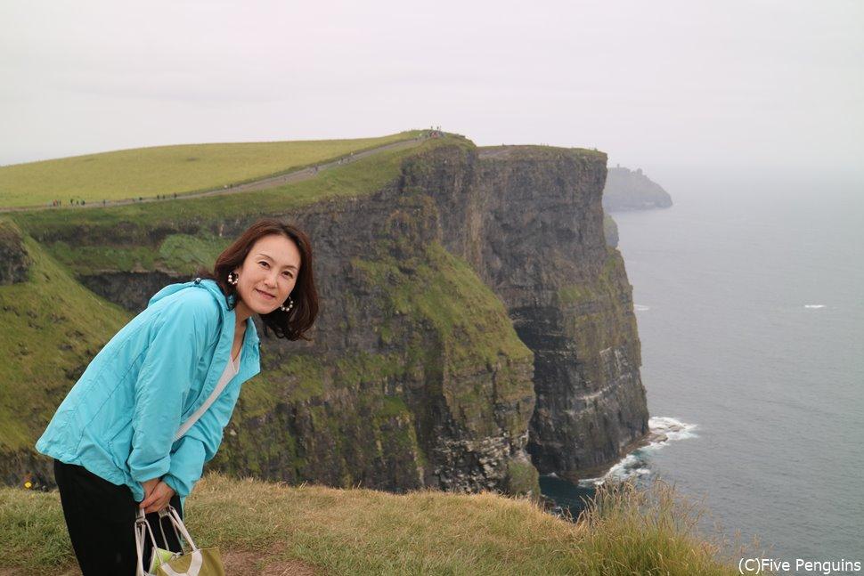 大迫力!モハーの断崖は本当にスケールが大きい!