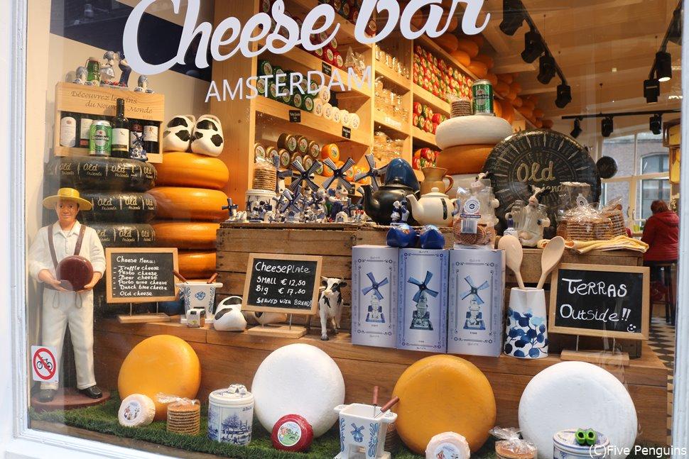 アムステルダムには美味しそうなチーズ屋さんが沢山!寄り道に最適!?