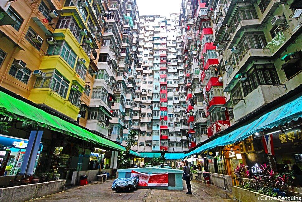 香港で人気急上昇中のインスタ映えスポット「モンスターマンション」