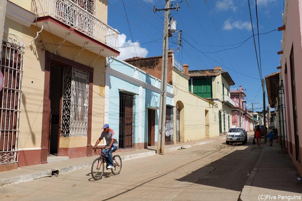 パステルカラーが美しい、世界遺産 トリニダーの町並み