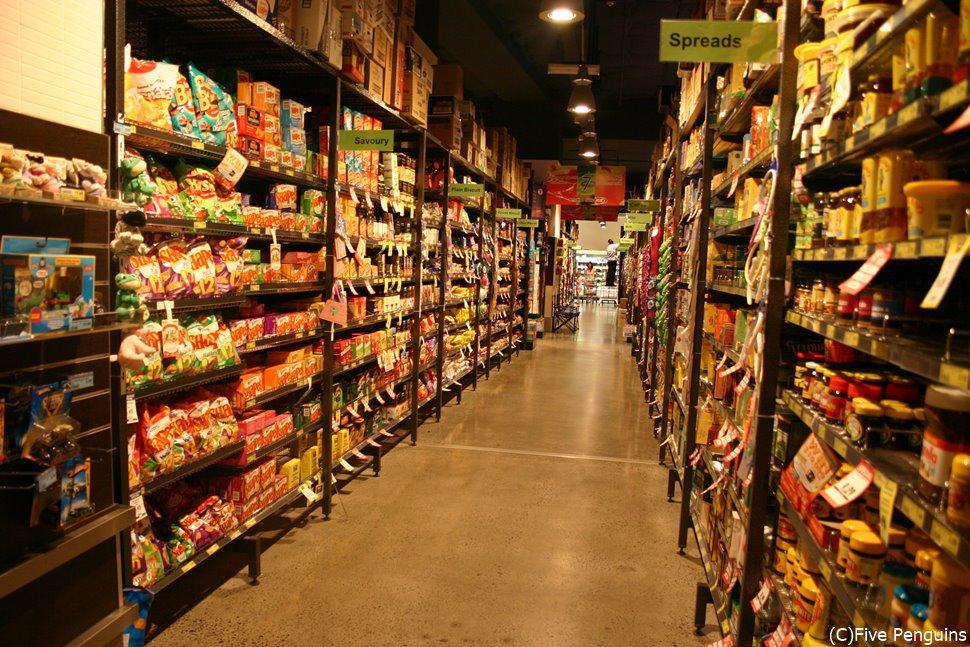 スーパーは美味しそうなものの宝庫。スナックに食事にお土産に!楽しい!