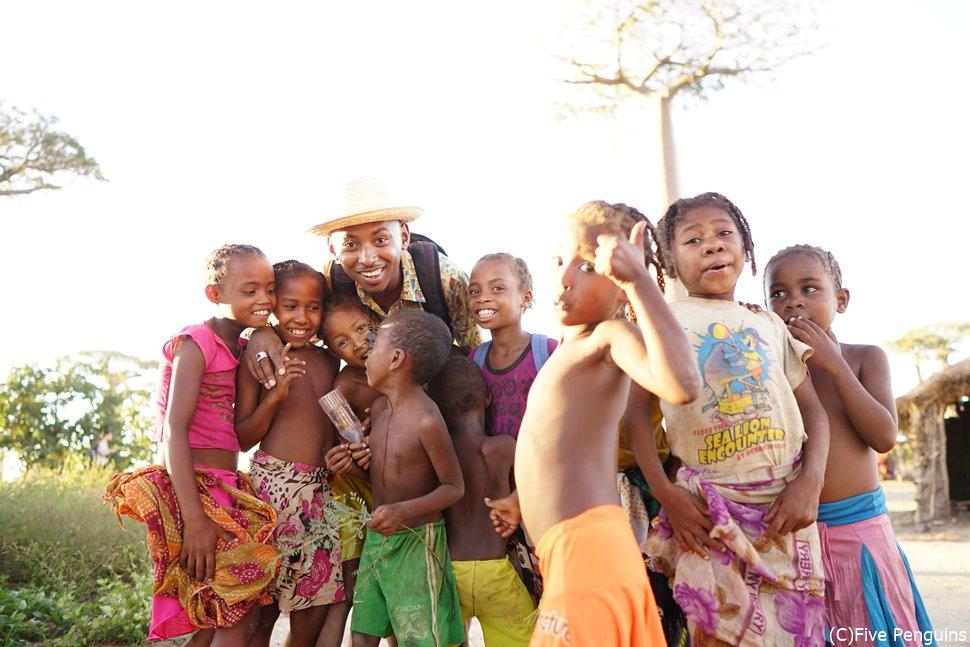 子供たちの笑顔は世界中どこへ行っても癒されます。
