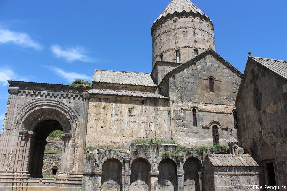 アルメニア一美しいと謳われる、タテヴ修道院