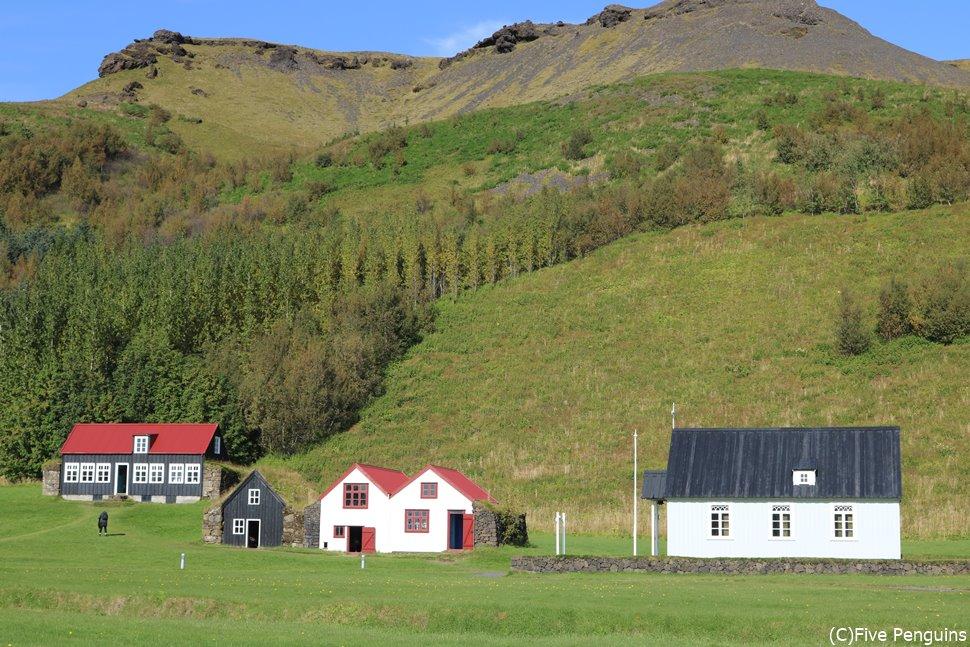 スコーガル民族博物館(南部アイスランド)