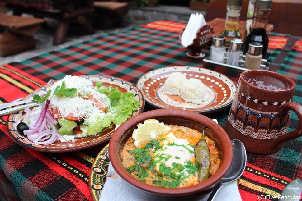 ヨーグルトだけじゃない!食事も美味しい国 ブルガリア