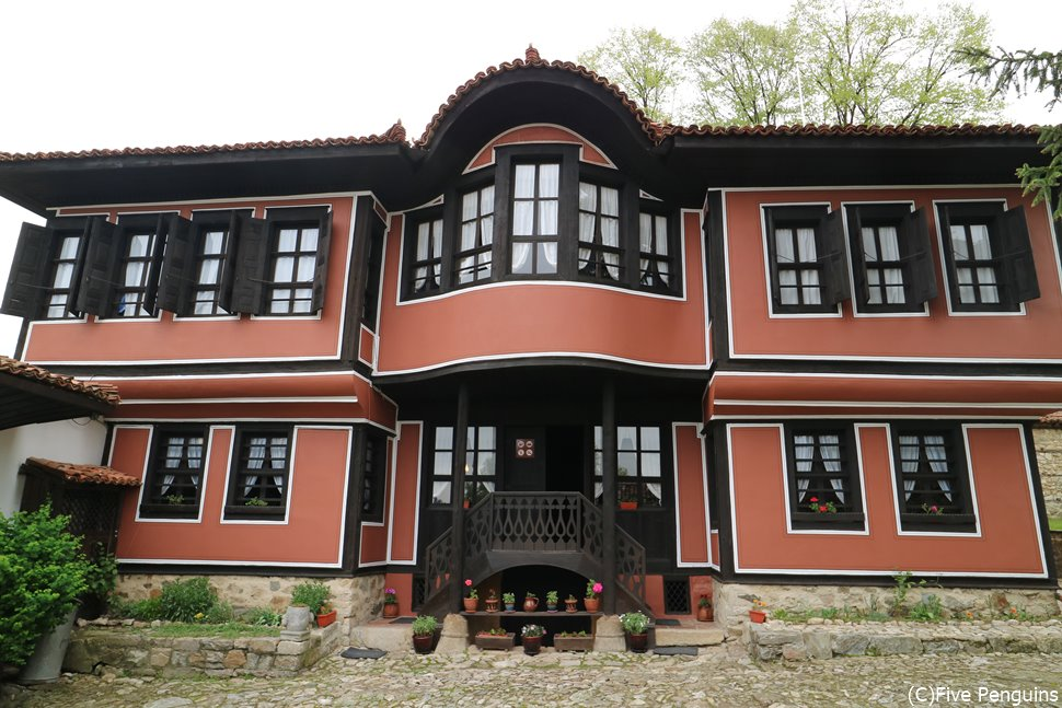 コプリフシティツァ初のハウス・ミュージアムとして公開されているカブレシュコフの家