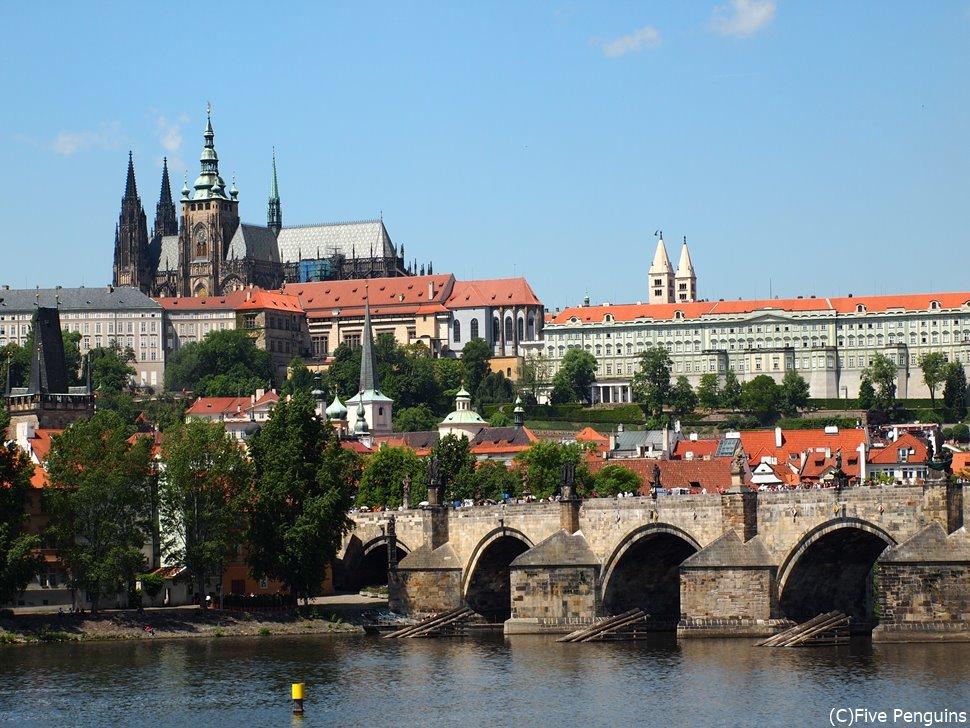 中世の建物が残るプラハは人気ダントツの町です。