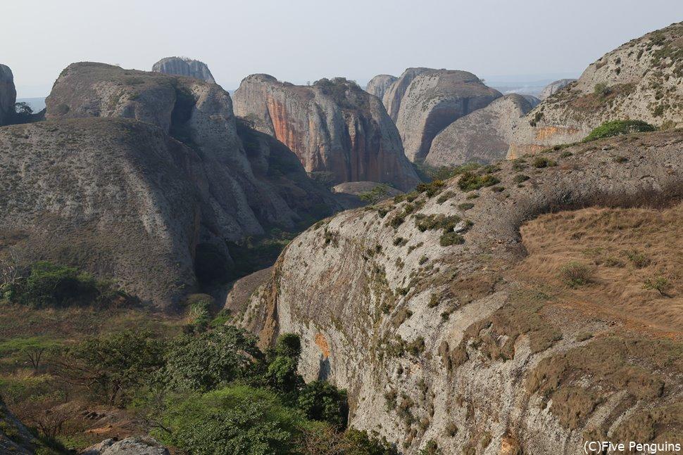 ペドラス・ネグラスの迫力ある大自然