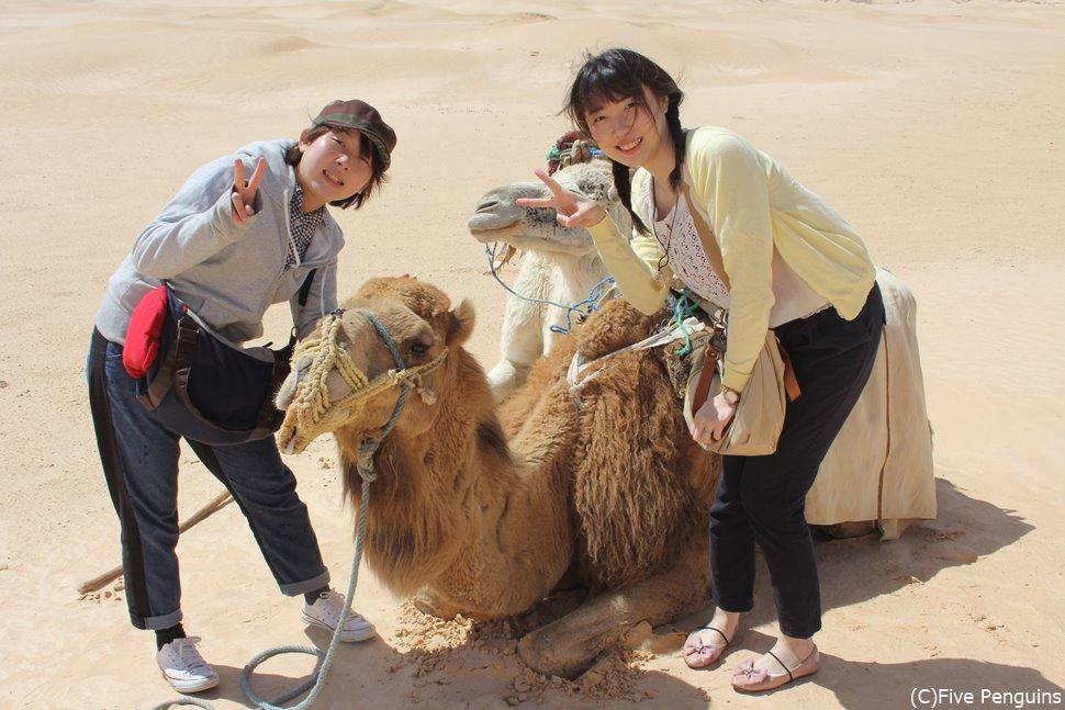 なんちゃて砂漠でも写真に撮れば雰囲気のある写真に(ドゥーズ)