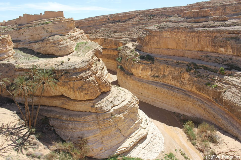ミディスの断崖(タメルザ峡谷)