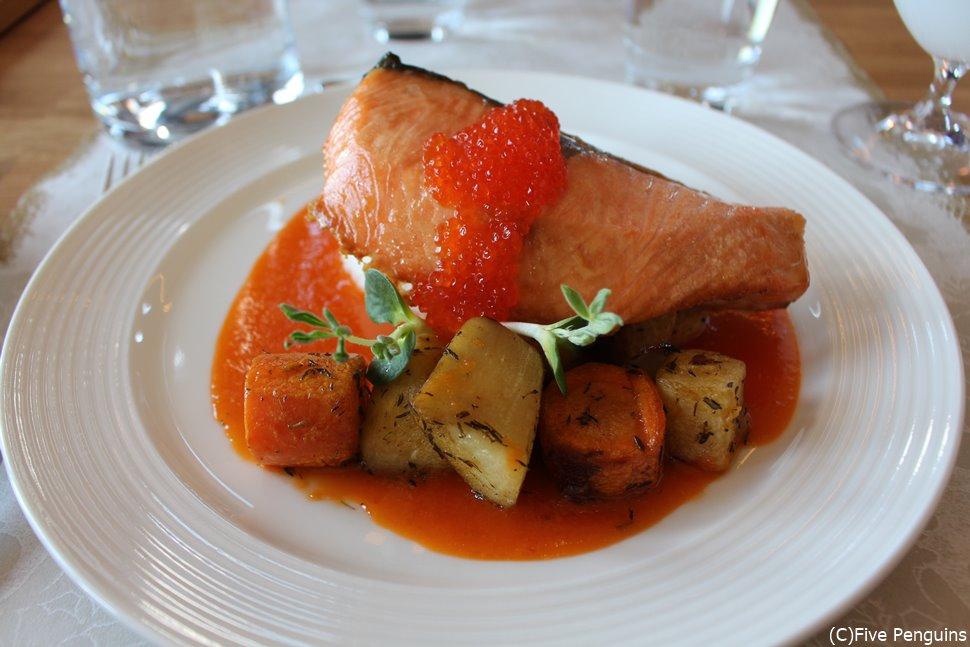 フィンランド定番の魚、サーモン