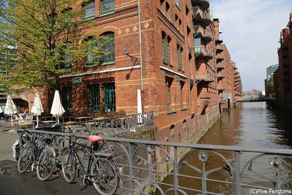 ハンブルグ 世界遺産の倉庫街