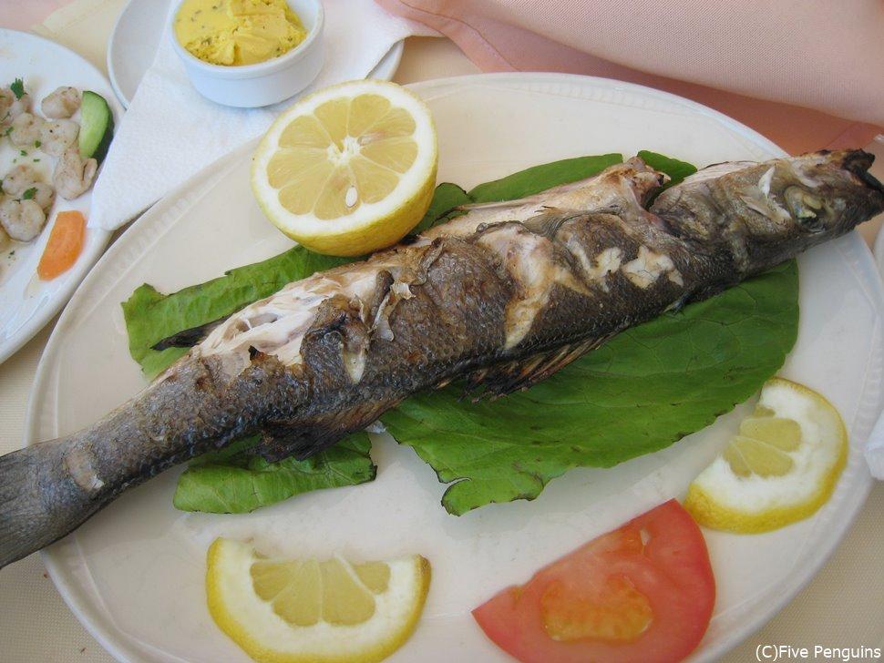 海辺の国だから魚も新鮮