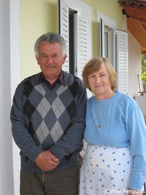 アルバニア人のご夫婦