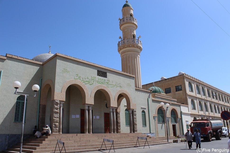 アスマラのイスラム教徒の聖地「グランドモスク」(エリトリア/アスマラ)