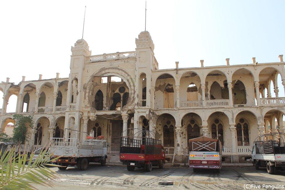 現存するアフリカ最古の銀行建築 「旧イタリア銀行」(エリトリア/マッサワ)