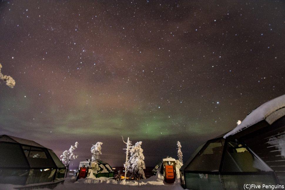 煌めく星と幻想的なオーロラで彩られる冬空を目に焼き付けたい