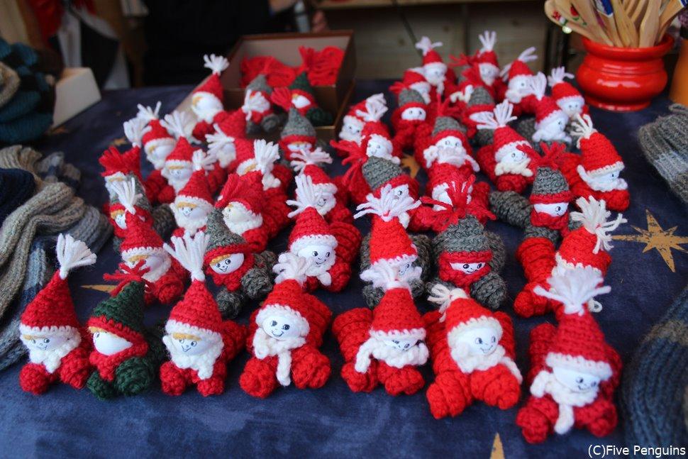 キュートな手作り雑貨はクリスマスマーケットの定番☆ツリーの飾りにいかが?
