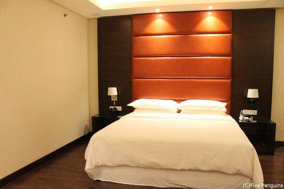 シェラトン・グランド・ホテル・コナクリの客室