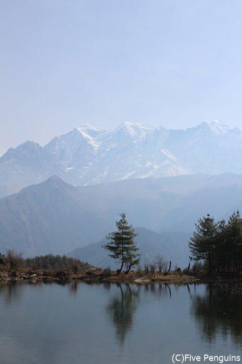 山上湖のショコンレイク
