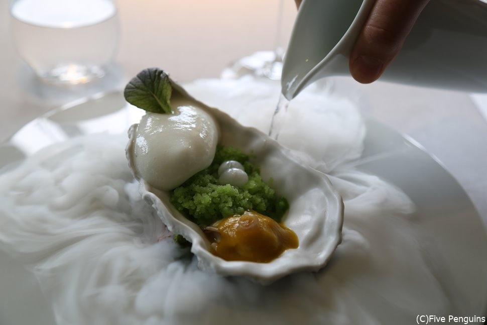 サンセバスチャンの3つ星の店マルティン・ベラサテギの料理