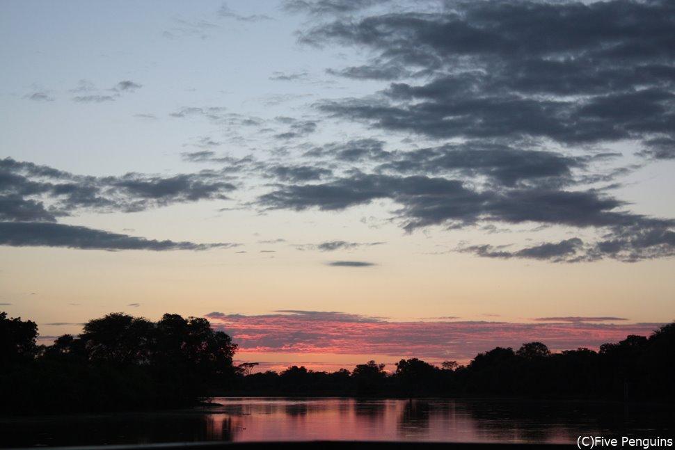 夕暮れ時の美しさ、格別です。