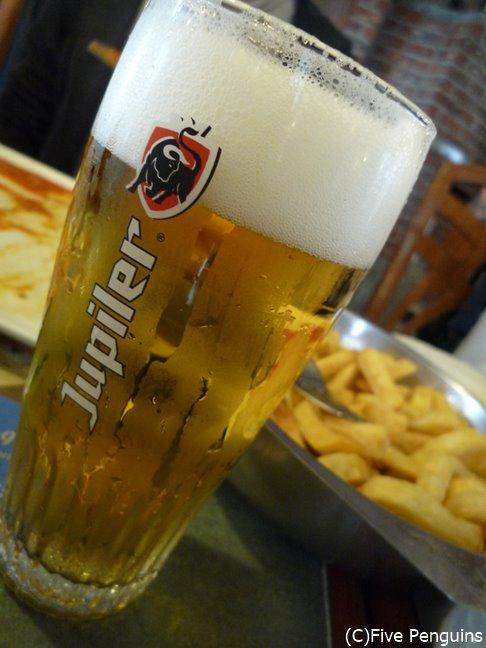 ベルギーで最も飲まれているビール「ジュピラー」