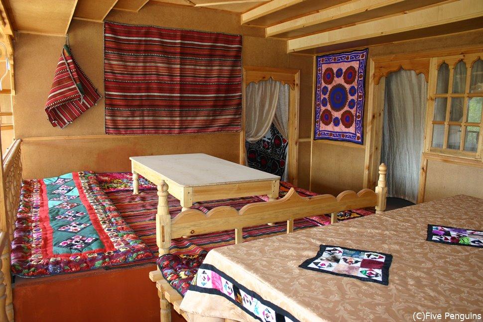 ペンジケントのタジク伝統の家屋