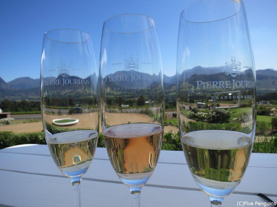 美しい景色と美味しいワインで最高のひと時を