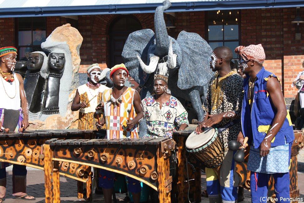 アフリカンミュージックも気軽に楽しめます♪