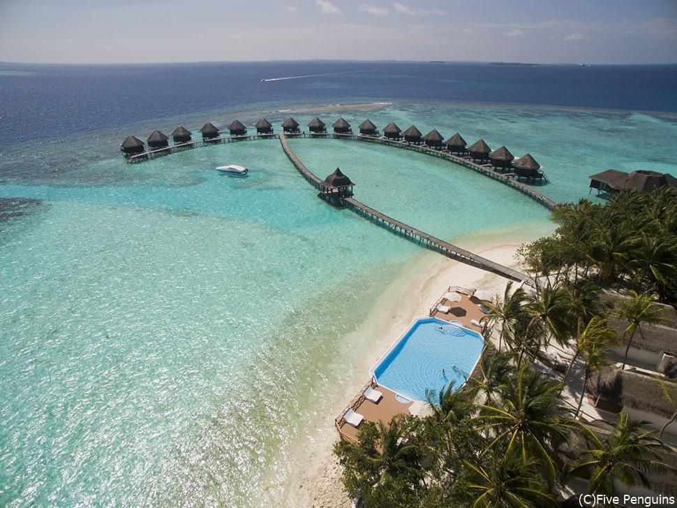 プールもあるし、ビーチもあるし、サンゴ礁もあるし。無いものは無い?!