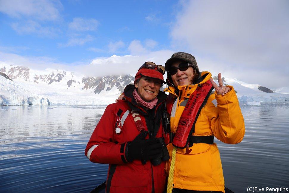 南極に行ったからこそ撮れた思い出の1枚