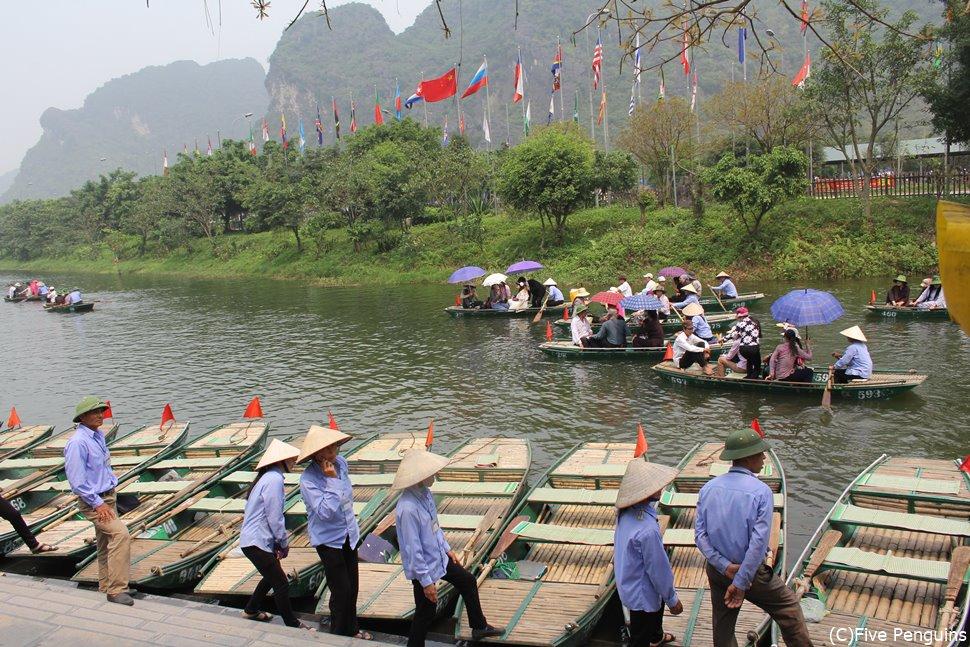 世界遺産「チャンアン名勝遺跡群」観光には川クルーズが必須