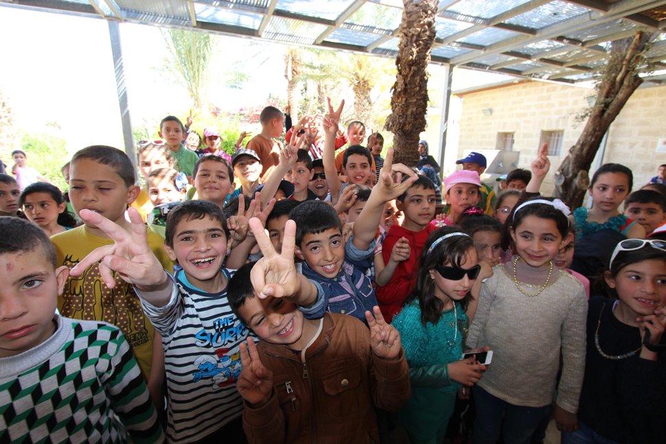 パレスチナの子供たち