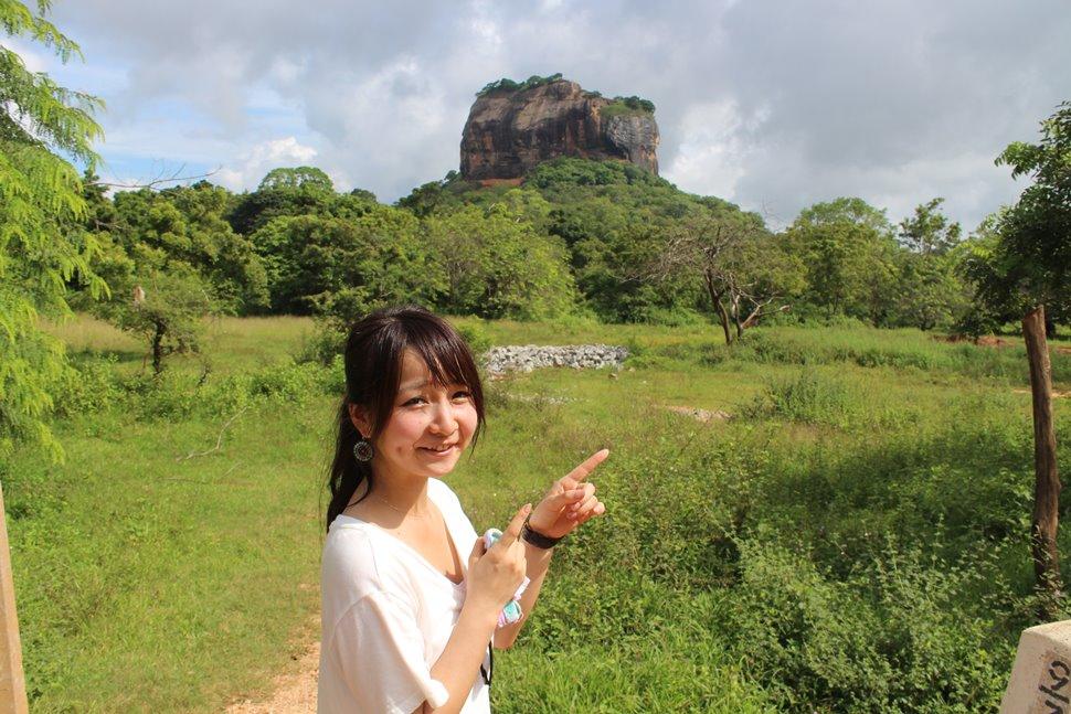シギリヤロック遺跡と私